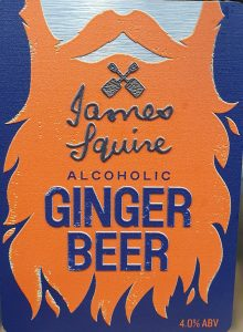TRY OUR NEW GINGER BEER ON TAP